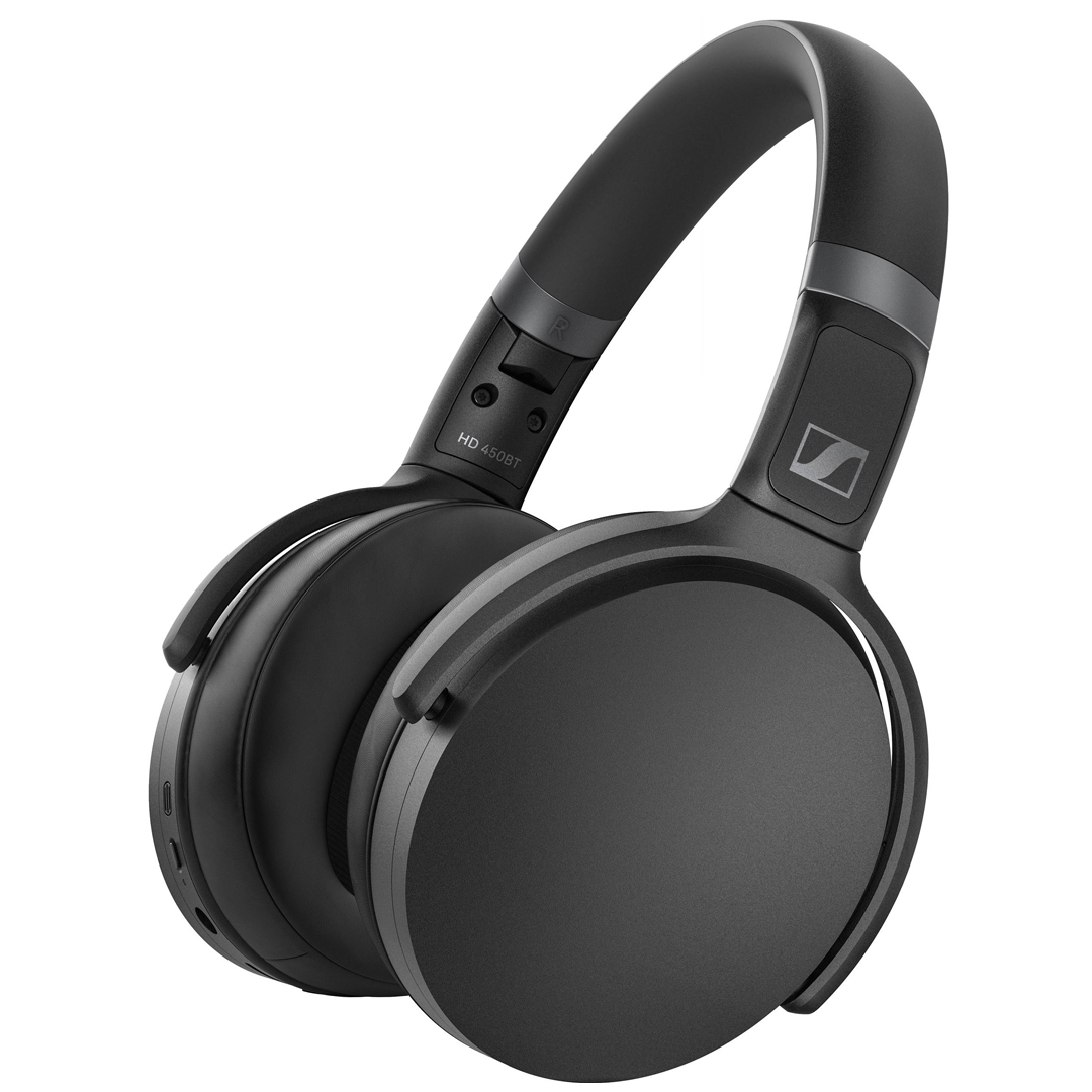 Sennheiser HD 450BT Wireless Noise-Cancelling Headphones