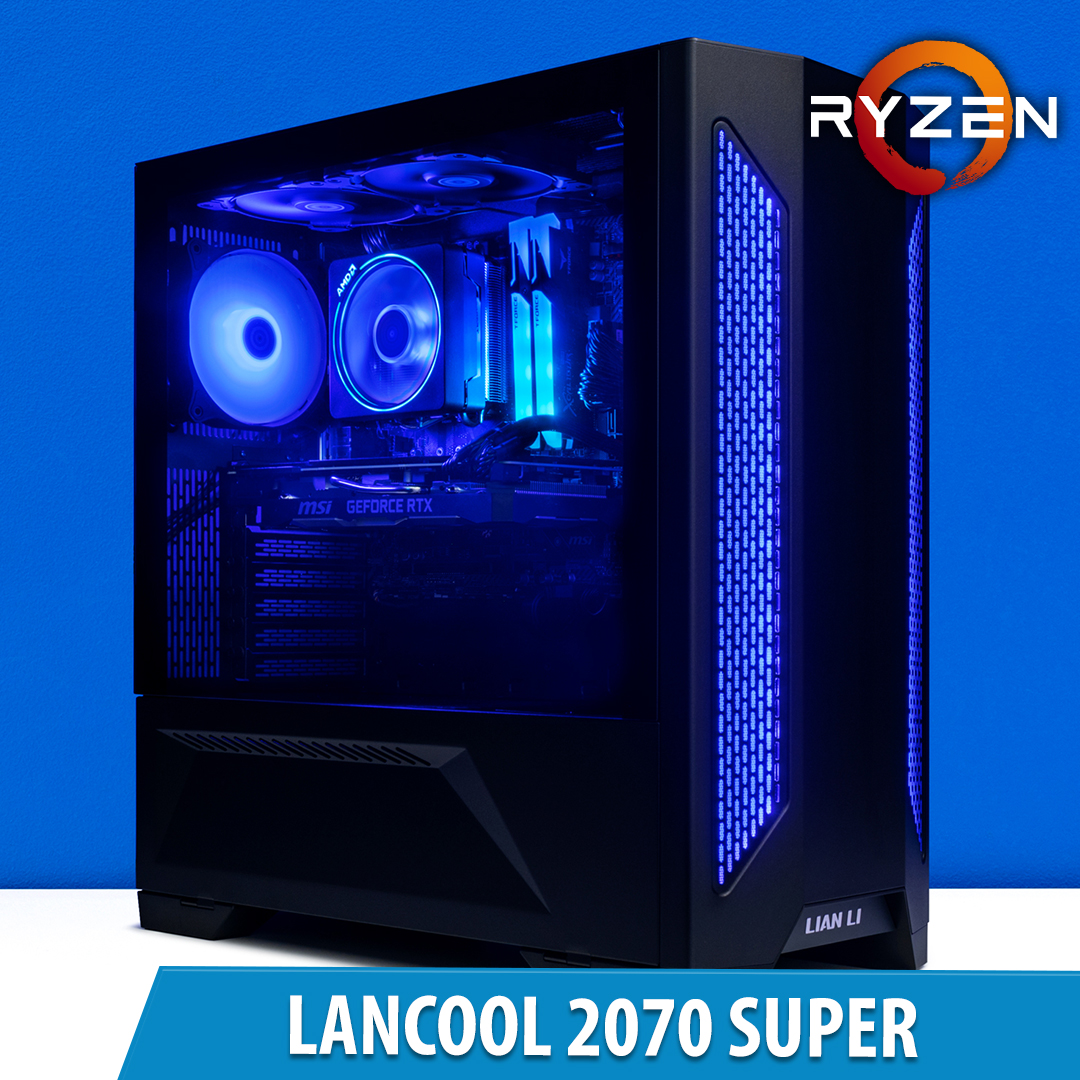 PCCG Lancool 2070 Super Gaming System