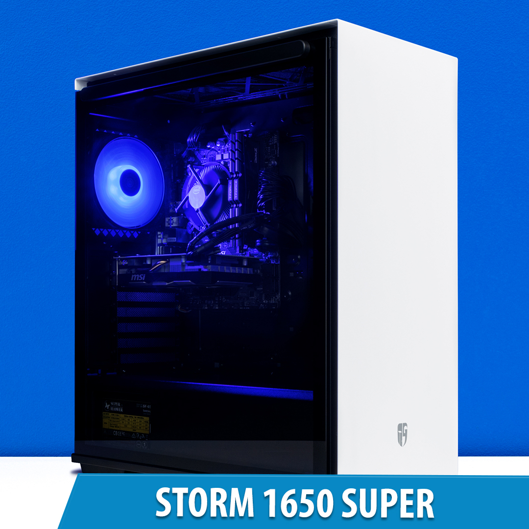 PCCG Storm 1650 Super Gaming System