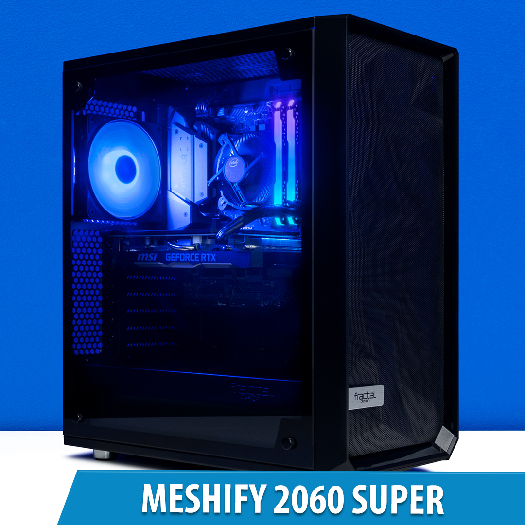 PCCG Meshify 2060 Super Gaming System