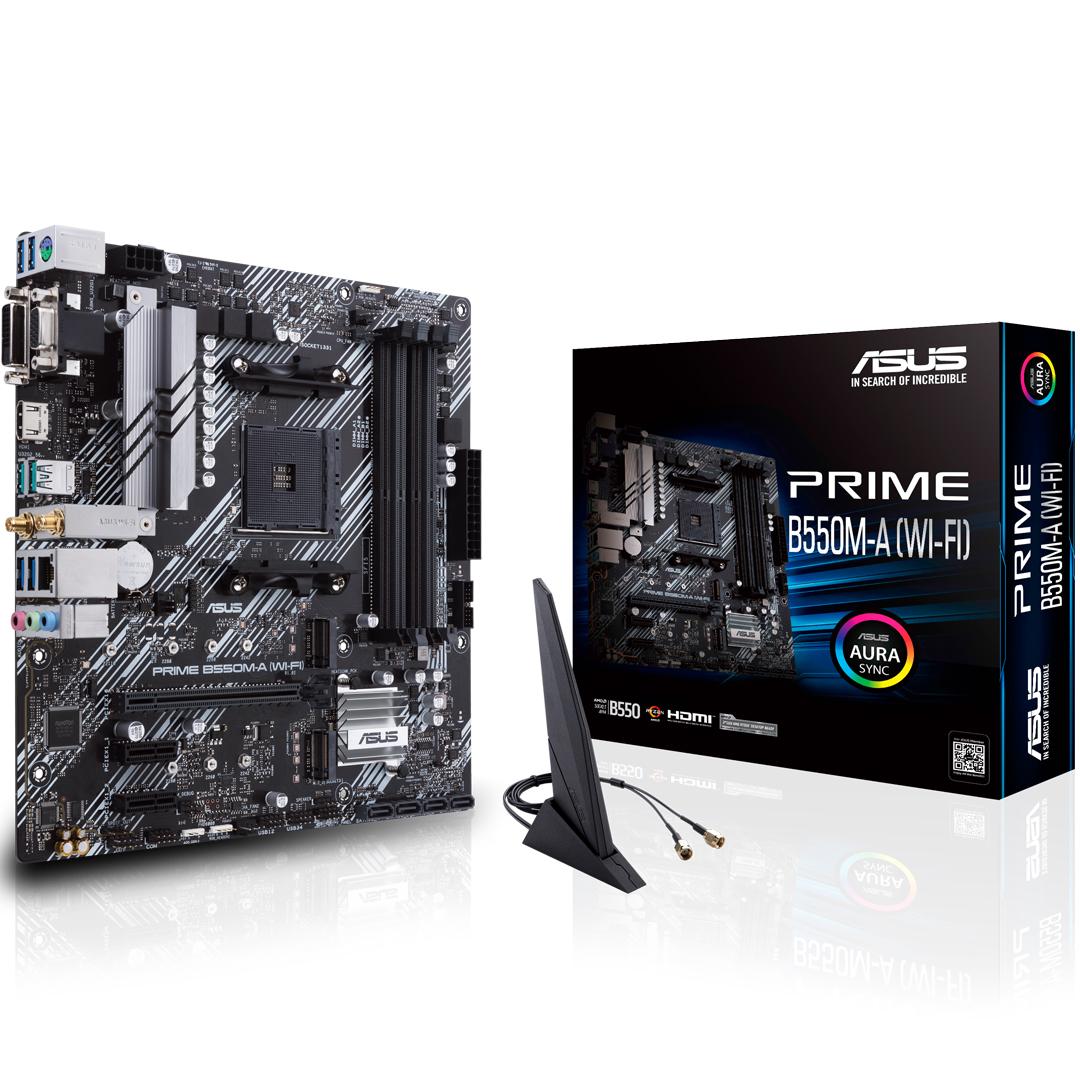 ASUS Prime B550M-A Wi-Fi Motherboard