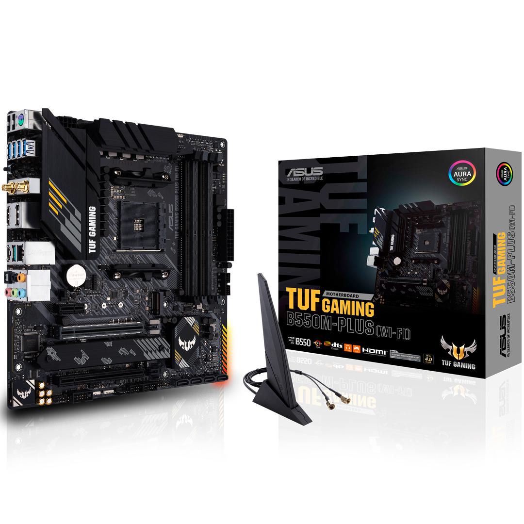 ASUS TUF Gaming B550M Plus Wi-Fi Motherboard