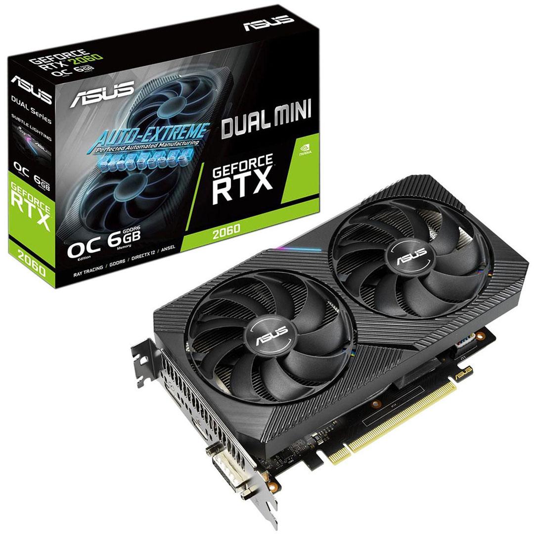 ASUS GeForce RTX 2060 Dual OC Mini 6GB