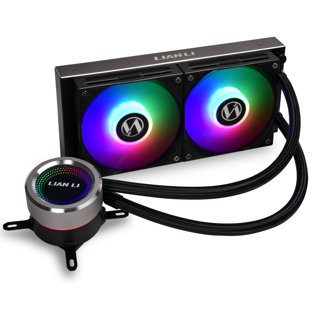 Lian Li Galahad 240mm AIO CPU Cooler Black