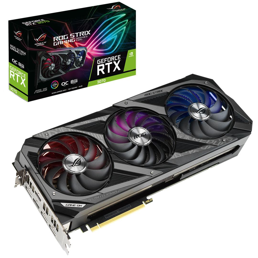 ASUS ROG Strix GeForce RTX 3070 OC 8GB