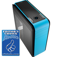 Aerocool DS 200 Blue Edition Case with Window