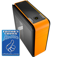 Aerocool DS 200 Orange Edition Case with Window