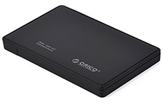 Orico USB 3.0 2.5in SATA Hard Drive Enclosure Black