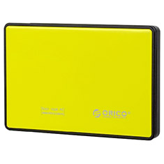 Orico USB 3.0 2.5in SATA Hard Drive Enclosure Yellow