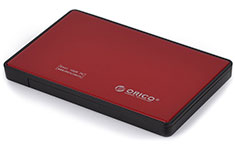 Orico USB 3.0 2.5in SATA Hard Drive Enclosure Red