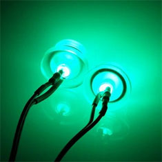 EK Twin 5mm LED Kit - Green