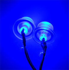 EK Twin 5mm LED Kit - Blue
