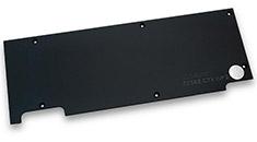 EK Full Cover EK-FC980 GTX WF3 Backplate Black