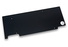 EK Full Cover EK-FC970 GTX TFX Backplate Black