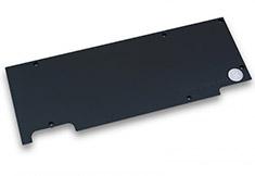 EK Full Cover EK-FC980 GTX Ti WF3 Backplate Black