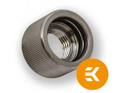 EK HD 12/16mm Female Adapter Nickel Black