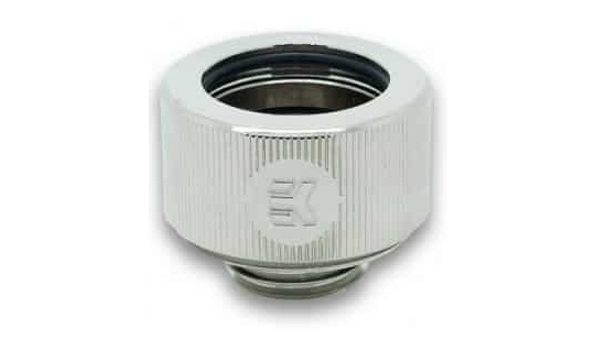 EK HDC 12mm Rigid Tube Fitting Nickel