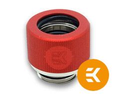 EK HDC 12mm Rigid Tube Fitting Red