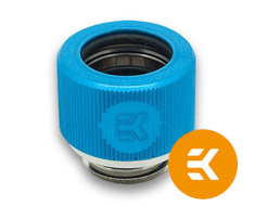 EK HDC 12mm Rigid Tube Fitting G1/4 Blue