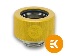 EK HDC 16mm Rigid Tube Fitting Gold