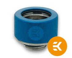 EK HDC 16mm Rigid Tube Fitting G1/4 Blue