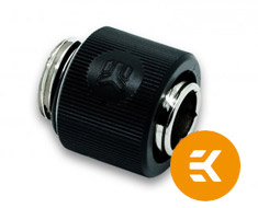 EK ACF 10/13mm Compression Fitting Black