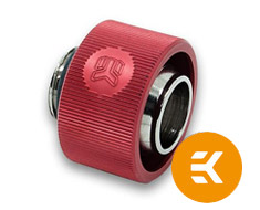 EK ACF 13/19mm Compression Fitting Red