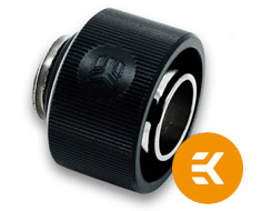 EK ACF 13/19mm Compression Fitting Black