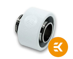 EK ACF 13/19mm Compression Fitting White