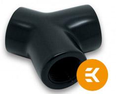 EK AF Y-Splitter 3F G1/4 Black