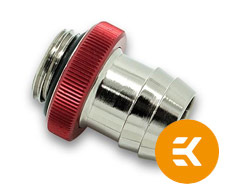 EK HFB 13mm High Flow Barb Red
