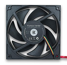 EK Furious Vardar Fan F5 120mm 3000RPM Black