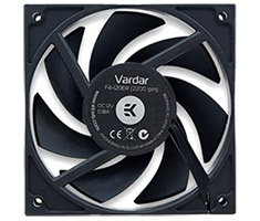 EK Vardar 120mm Fan F4-120ER 2200RPM Black