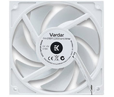 EK Vardar 120mm Fan F4-120ER 2200RPM White