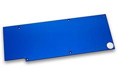 EK Full Cover EK-FC R9-290X Backplate Blue