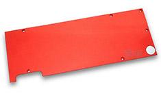 EK FC980 GTX Backplate Red
