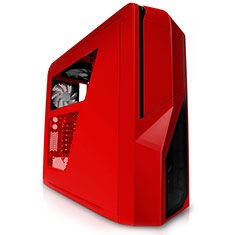 NZXT Phantom 410 Mid Tower Case Red