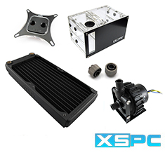 XSPC Raystorm D5 EX240 Water Cooling Kit