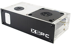 XSPC DDC Single Bay Reservoir/Pump Combo
