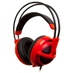 SteelSeries Siberia V2 Full Size Headset Red Limited Edition