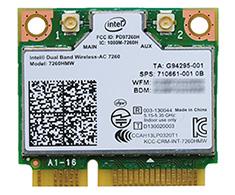 Intel Dual Band Wireless AC 7260 Mini PCI-E Adaptor OEM
