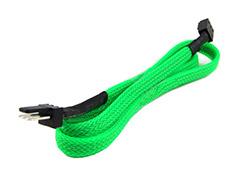 Phobya 3Pin Extension 60cm UV Green