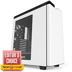 NZXT H440 Mid Tower Case White/Black 2015 Edition