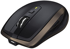 Logitech MX Anywhere 2 Wireless Mobile Mouse Black
