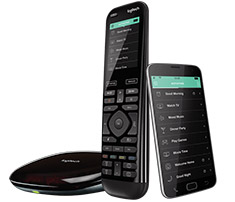 Logitech Harmony Elite Advanced Universal Remote, Hub & App