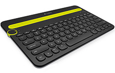 Logitech K480 Multi-Device Bluetooth Keyboard Black
