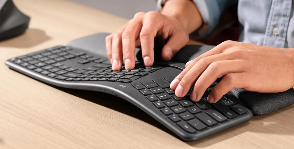 Logitech Ergo K860 Wireless Split Keyboard feature 2