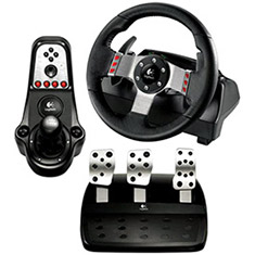 Logitech G27 Racing Wheel, Shifter and Pedals