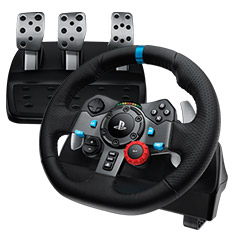 Logitech G29 Driving Force Racing Wheel for PC & PS4