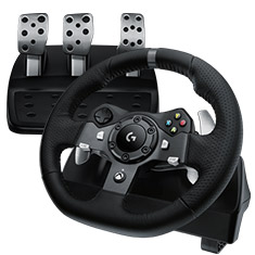 Logitech G920 Driving Force Racing Wheel for PC & Xbox One